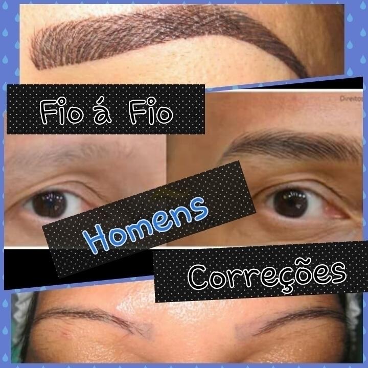 Homens também    Fica super natural  maquiador(a) micropigmentador(a) designer de sobrancelhas treinamentos cabeleireiro(a) dermopigmentador(a) outros