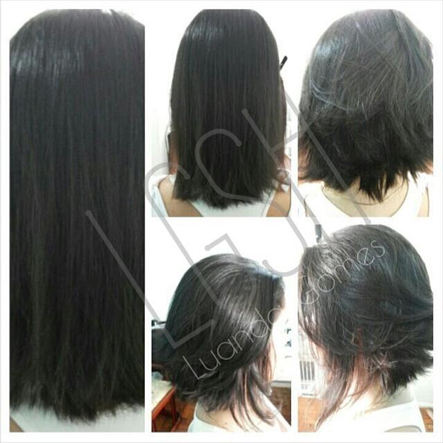 Corte 2015 Cut Hair desfiado na tesoura!!!! 2015 cabeleireiro(a) dona e proprietária