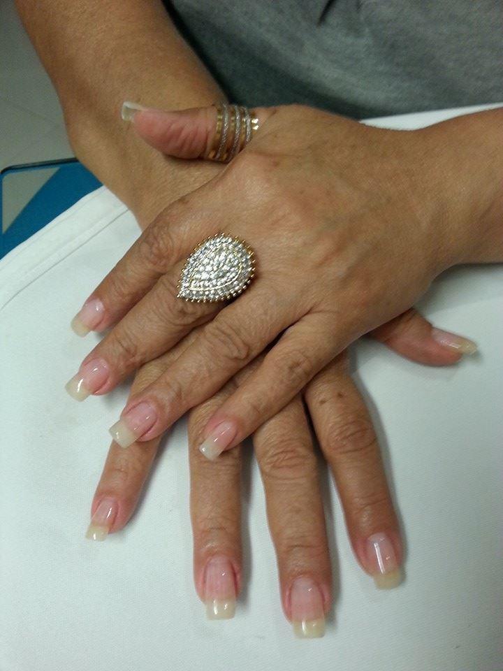 Unhas de Fibra manicure e pedicure