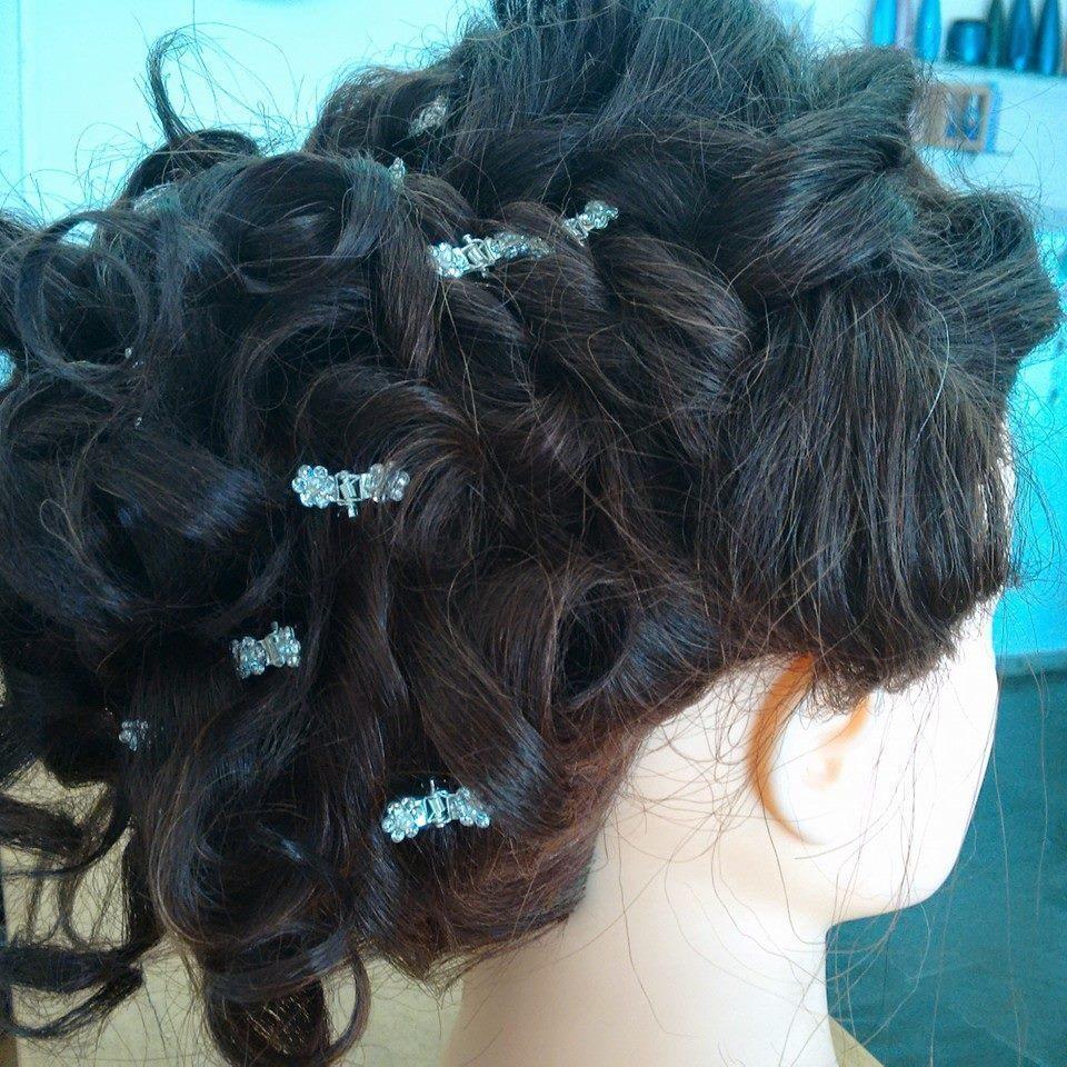 coque coque grego trançado  cabeleireiro(a)