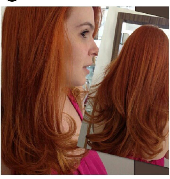 Mudança d cor Foi feita uma coloração global de mudança de cor  cabeleireiro(a) cabeleireiro(a)