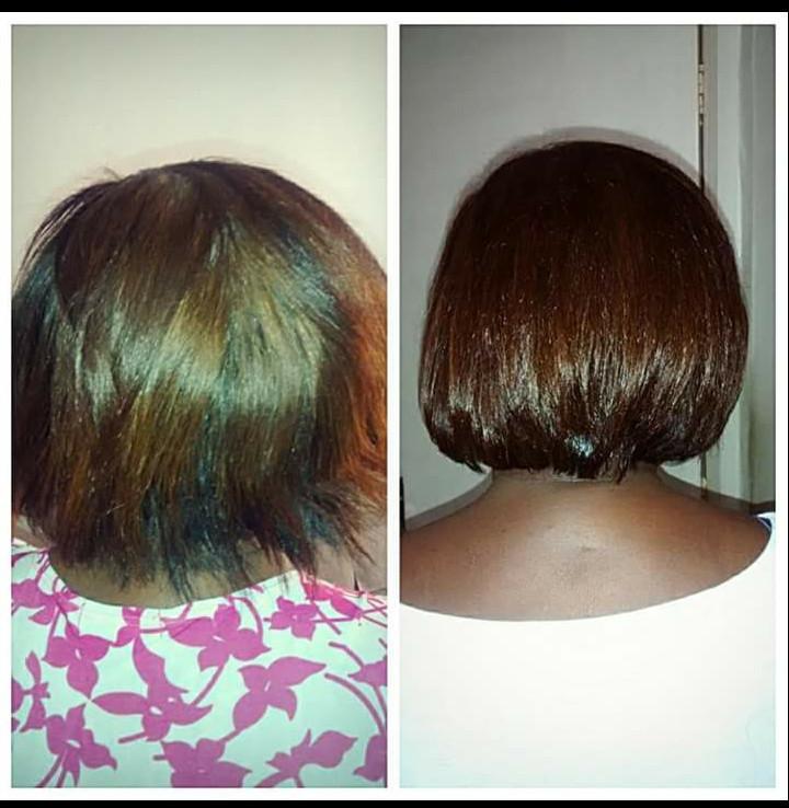 quimica ! Tintura chocolate, e dias depois, Progressiva Zap e com hidratação! cabeleireiro(a) auxiliar cabeleireiro(a) auxiliar cabeleireiro(a)