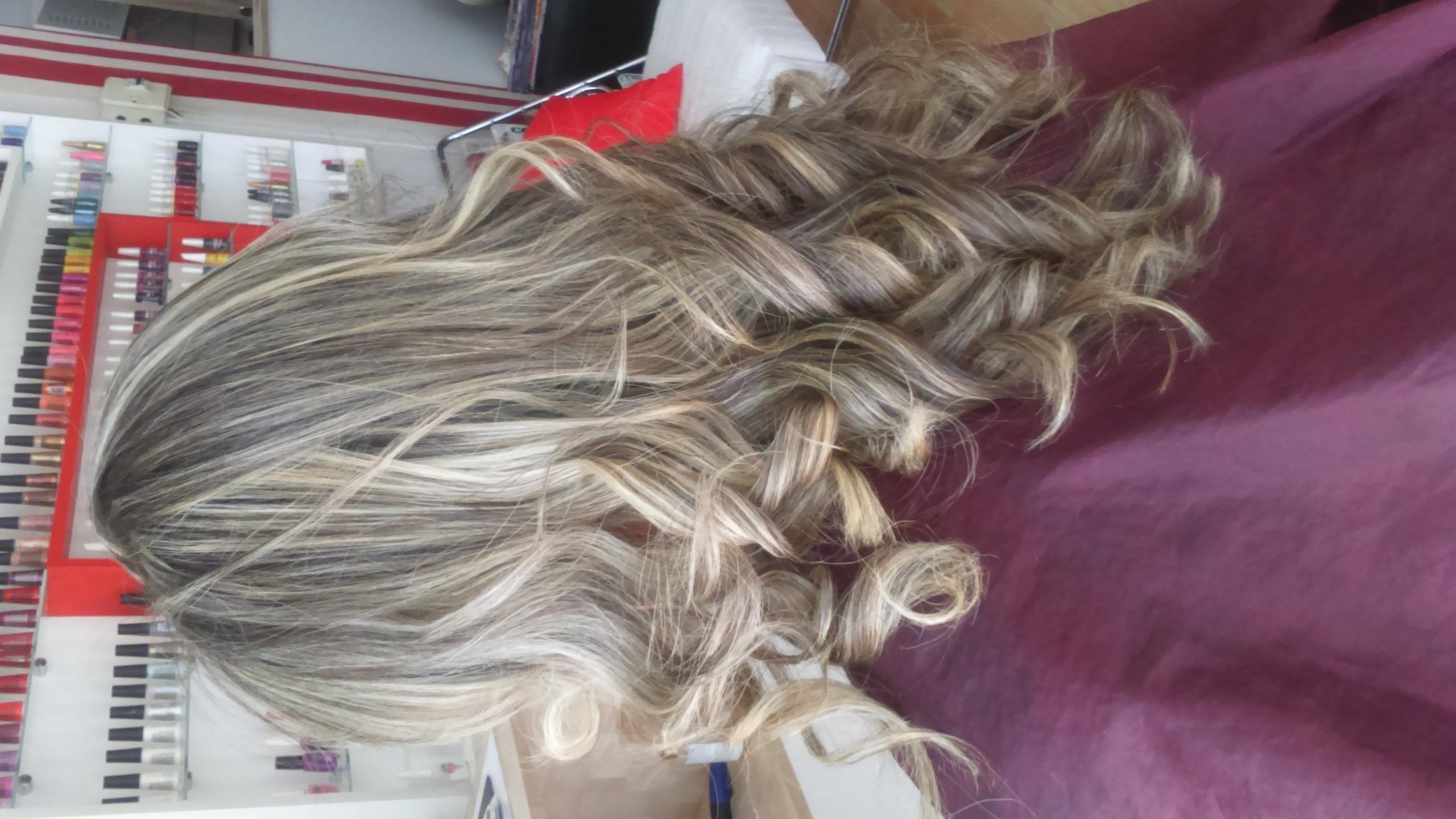 Mechas em transparência  cabelo  cabeleireiro(a) maquiador(a)