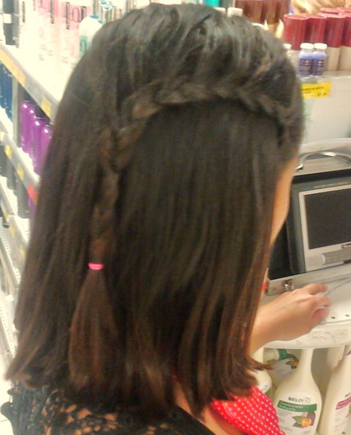Trança lateral cabeleireiro(a)