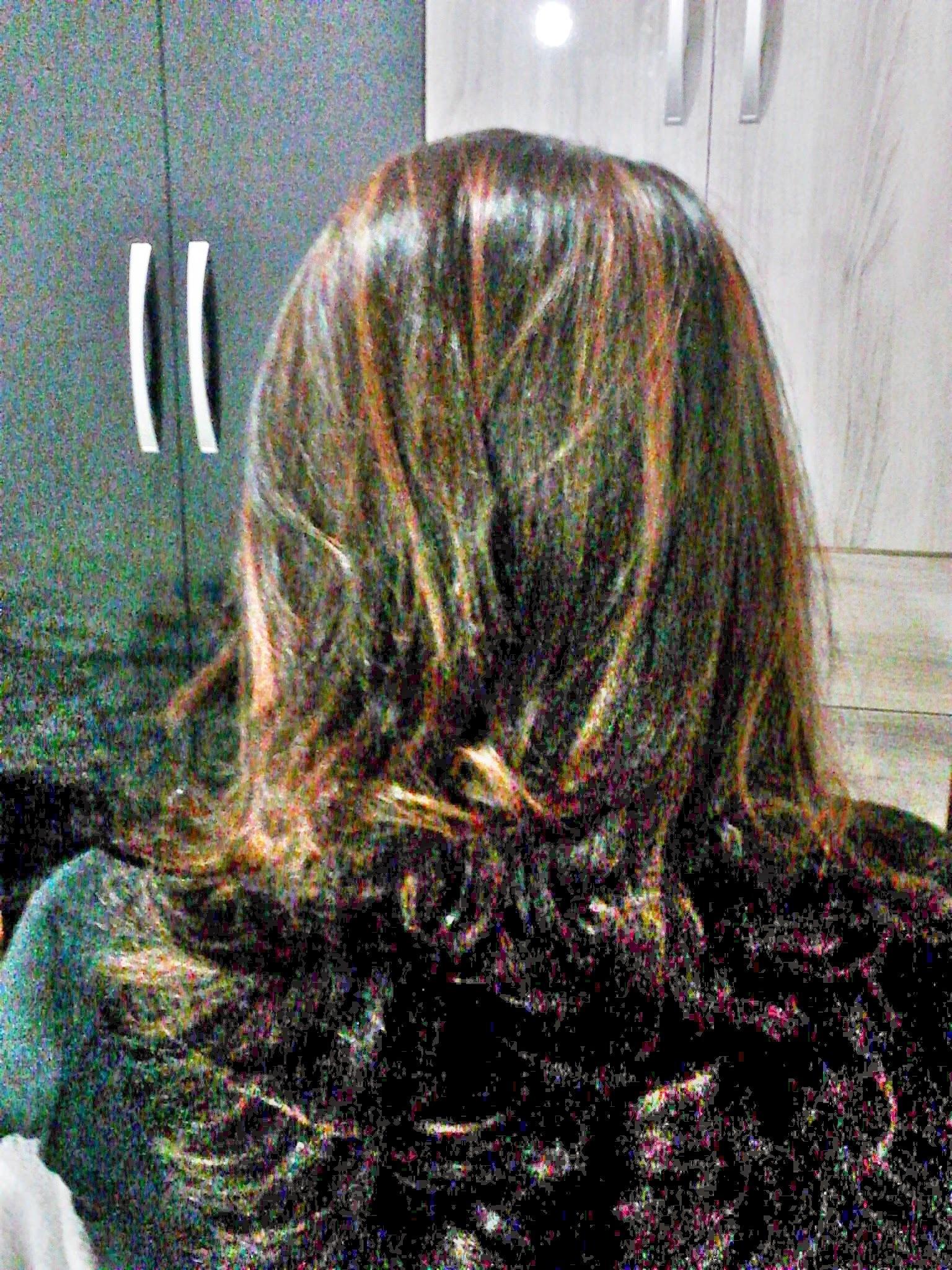 Luzes acobreadas e corte  cabeleireiro(a)