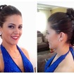 Madrinha de casamentoPenteado Red Carpet e make