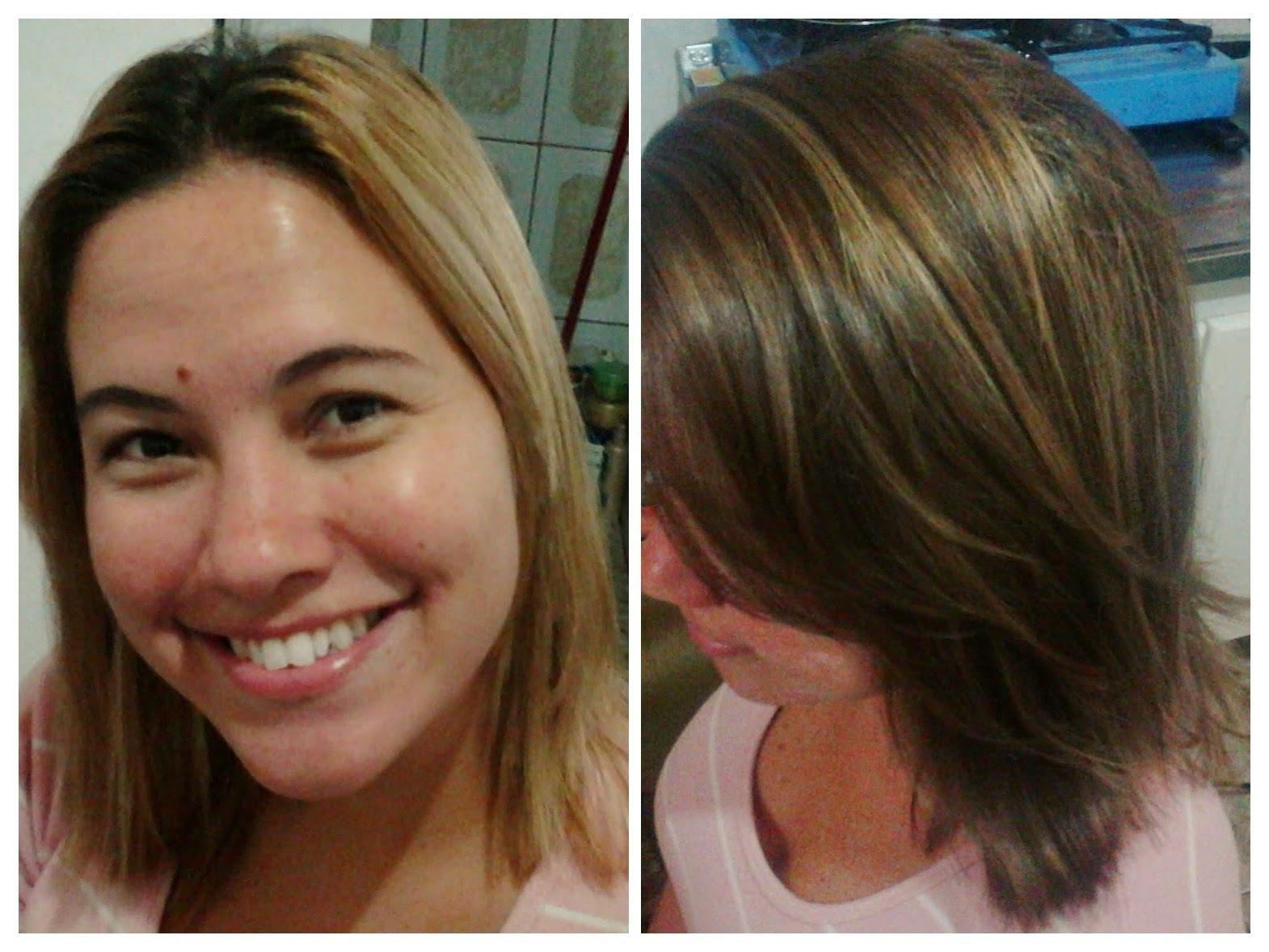 Saindo do Lorão  Separei as luzes no papel sem produto e colori o restante com a cor desejada ! cabelo cabeleireiro(a)