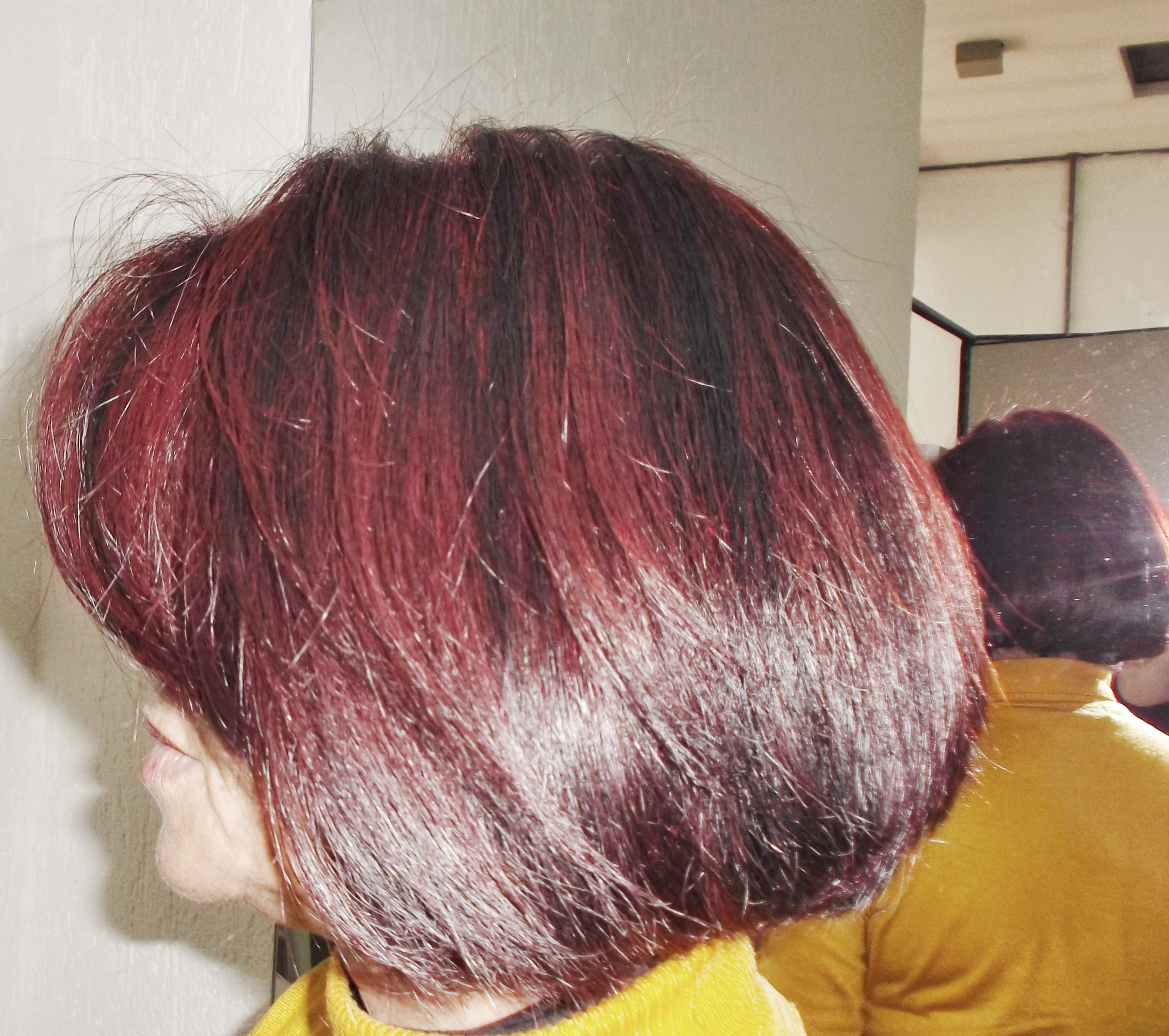 Corte Red Tons cabeleireiro(a)