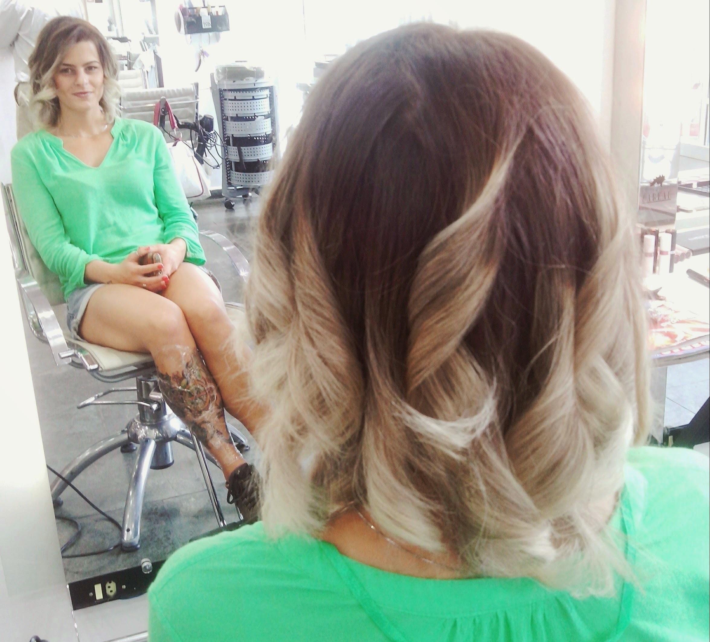 Ombré cabelo cabeleireiro(a)