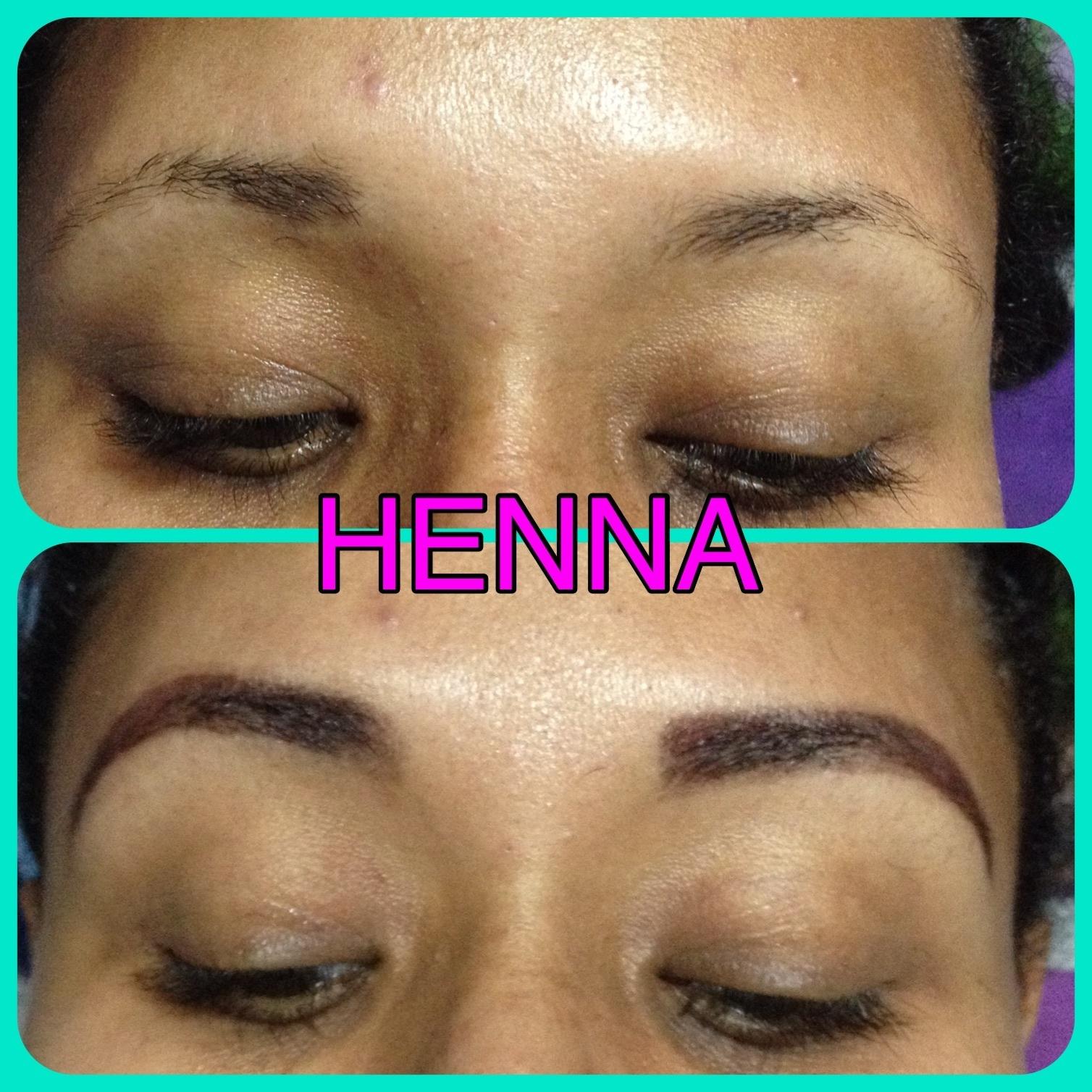 Designer de sobrancelha  Removi os pelos em excesso , aplicação de HENNA para a correção  cabeleireiro(a)