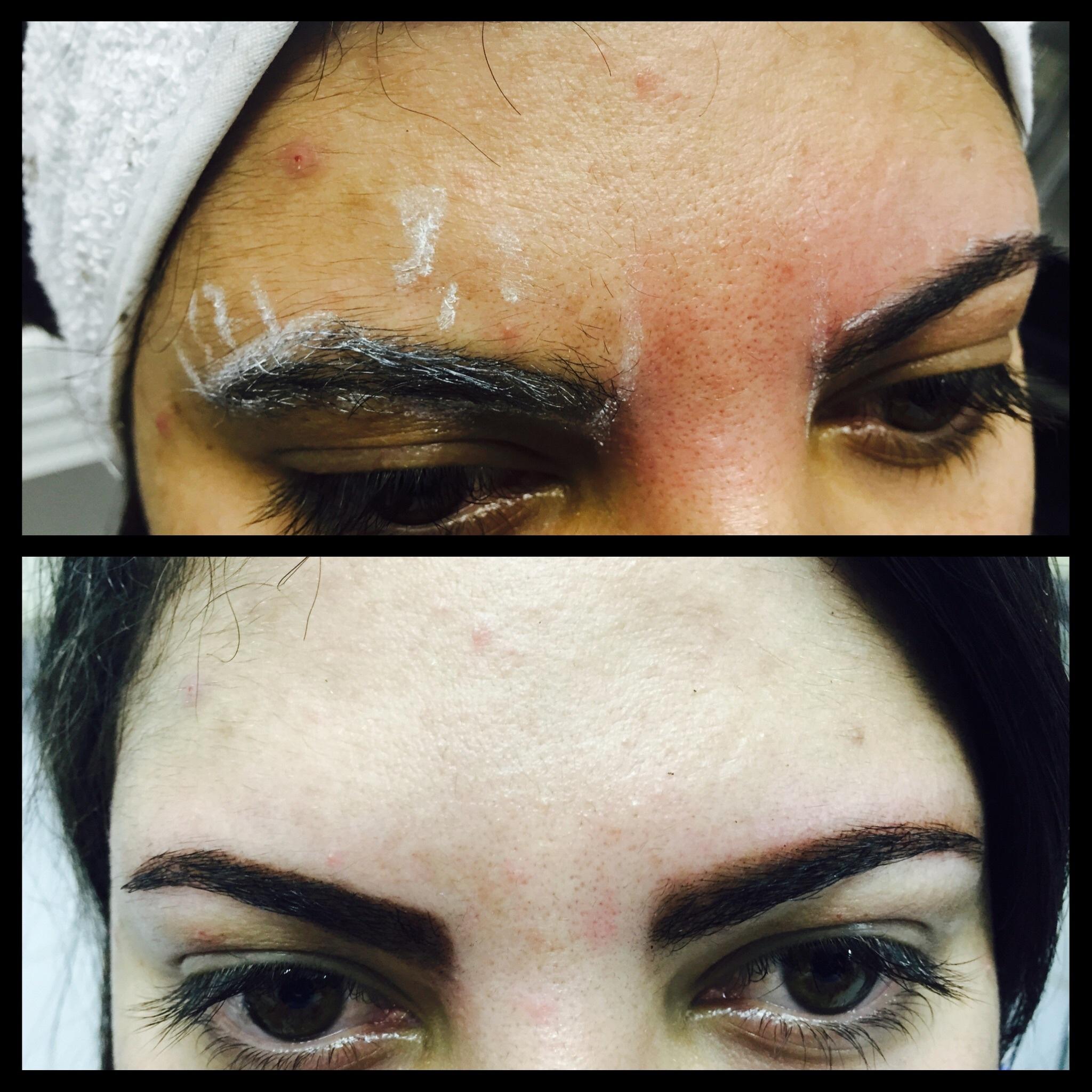 Sombracelha com henna    maquiador(a) designer de sobrancelhas