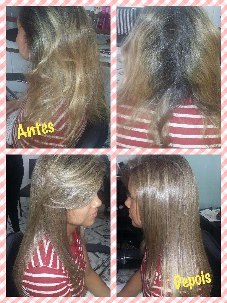 Lindíssima!  alisamento  cabelo  cabeleireiro(a) maquiador(a)