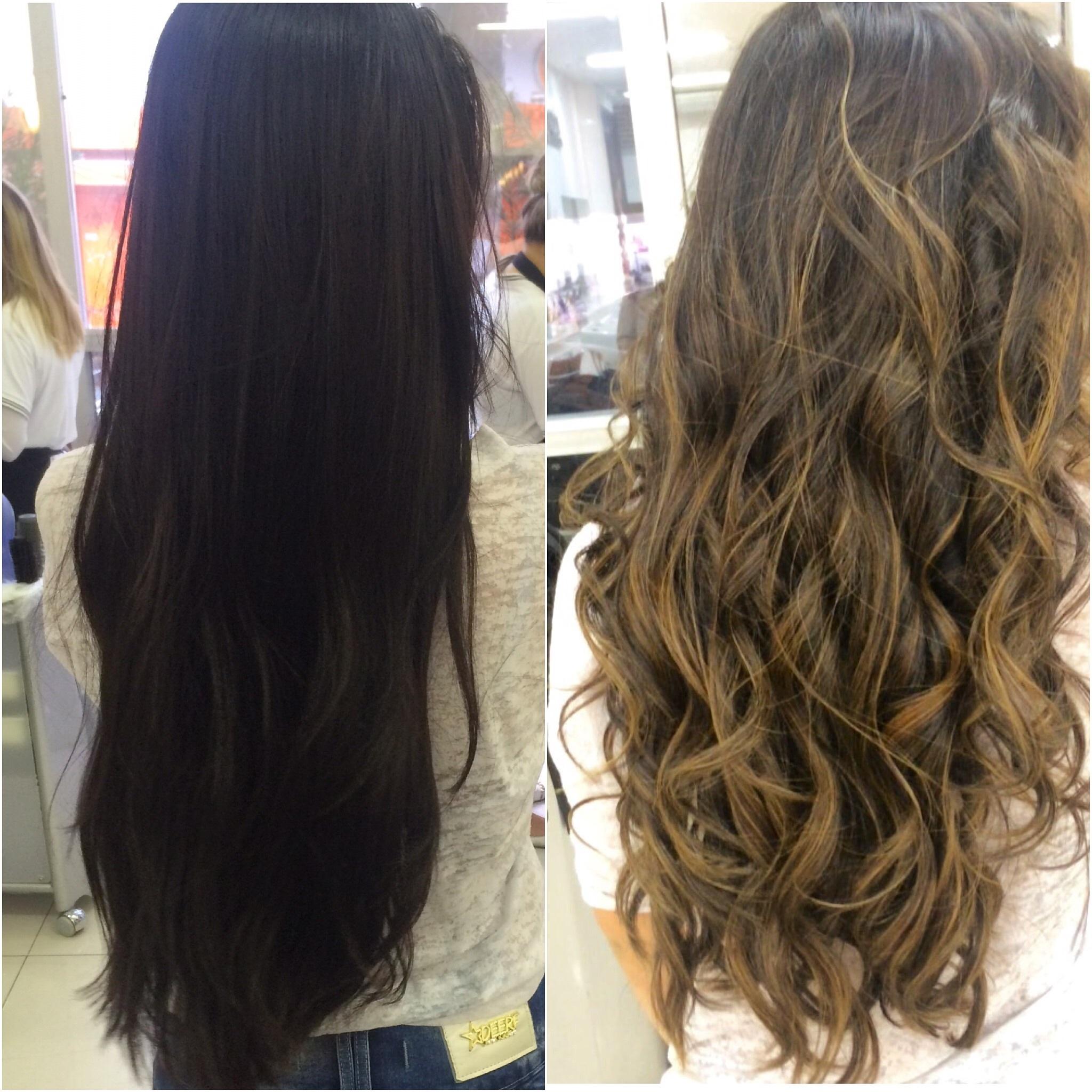 Meia trabalhos  Morena iluminada cabelo cabeleireiro(a) maquiador(a)