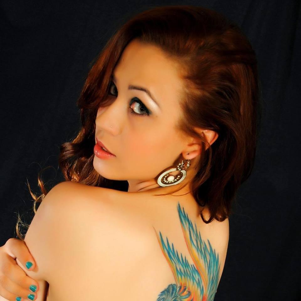 Modelo Carina ,cabeleireira e colorista Nalvinha Moura maquiador(a) cabeleireiro(a) visagista empresário(a) / dono de negócio escovista