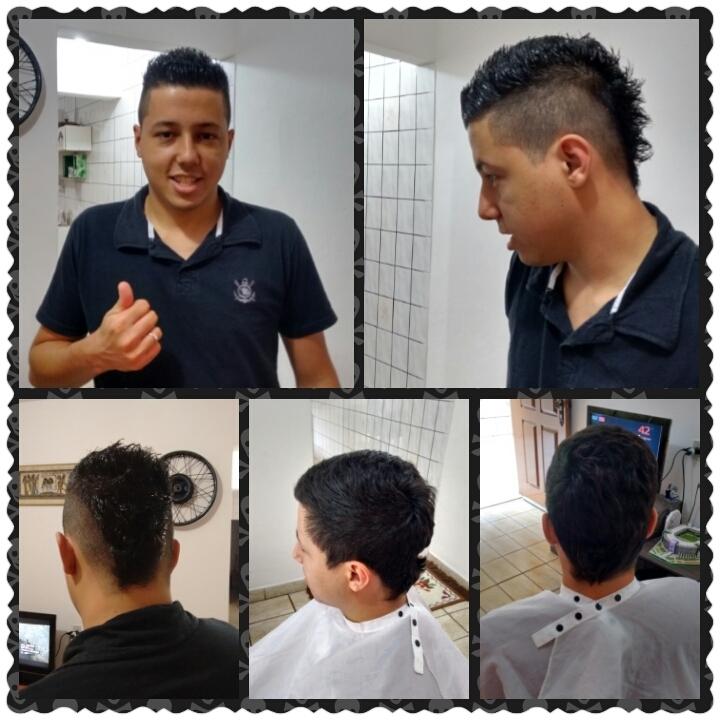 Corte masculino auxiliar cabeleireiro(a) cabeleireiro(a) recepcionista auxiliar administrativo
