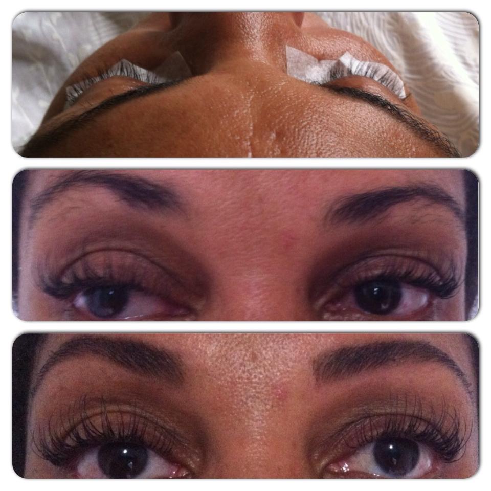 Cílios Fio a Fio Alongamento de cílios  designer de sobrancelhas depilador(a) maquiador(a) esteticista
