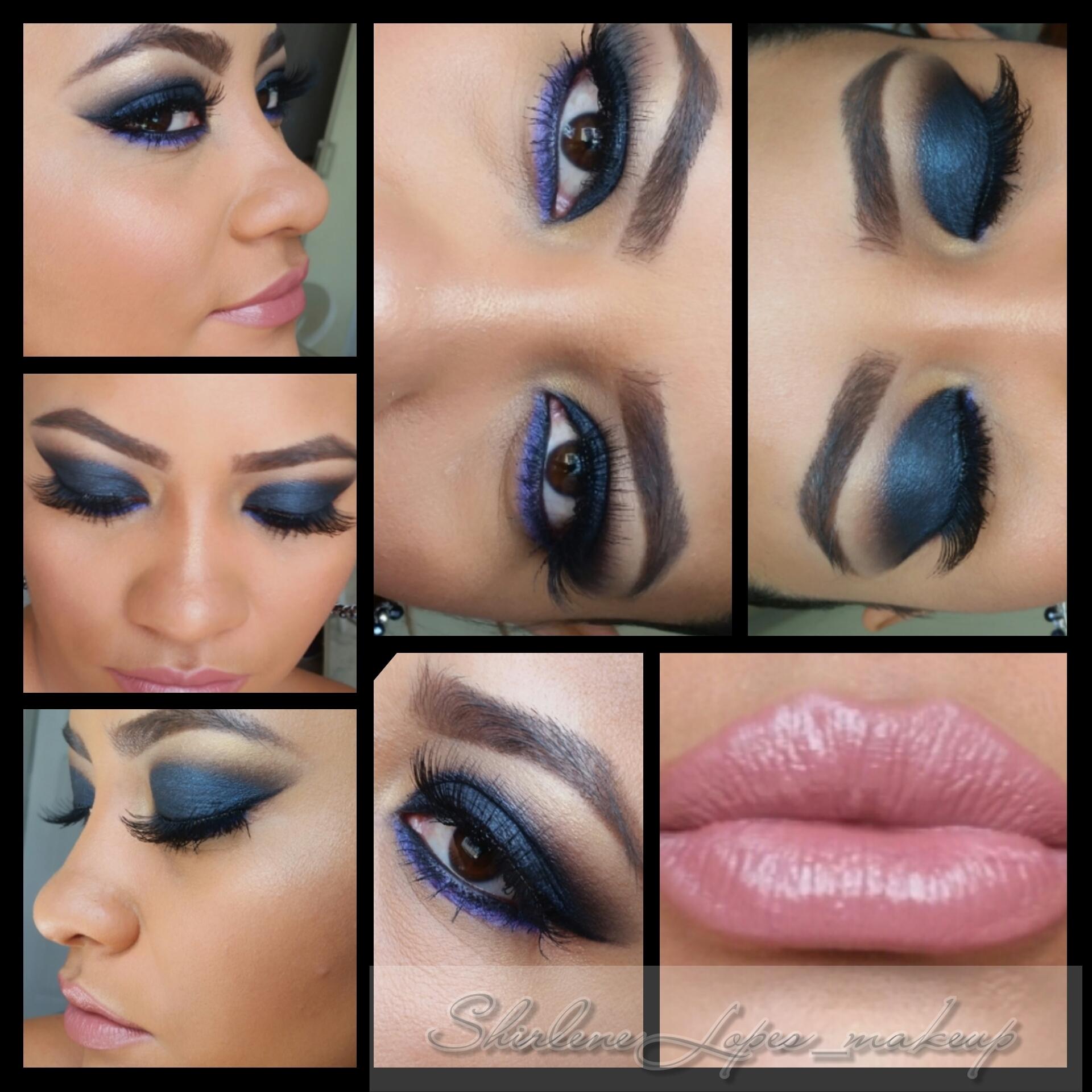 olhar poderoso maquiagem