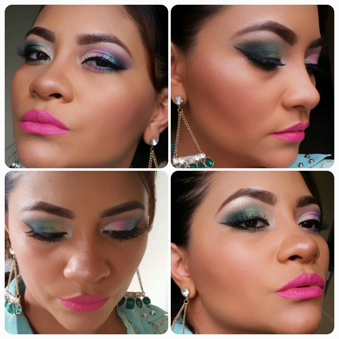 colorido  maquiagem