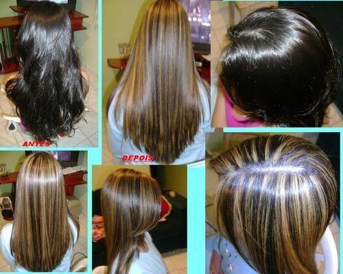 Luzes eC orte e Escova cabeleireiro(a)