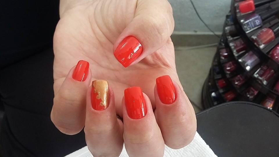 laranja  unhas  manicure e pedicure depilador(a)