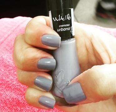 Cinza unhas  manicure e pedicure depilador(a)