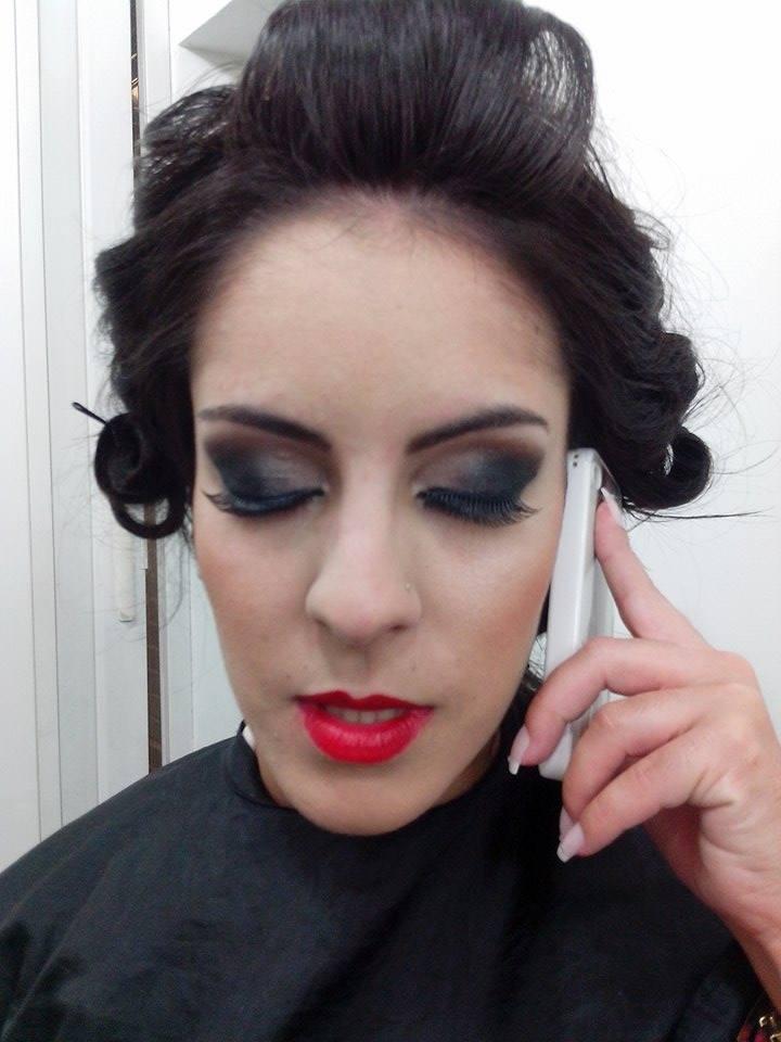 Madrinha de casamento Maquiagem para casamento realizada por mim maquiador(a) cabeleireiro(a)