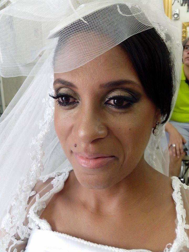 Maquiagem noiva Maquiagem realizada em pele negra maquiador(a) cabeleireiro(a)