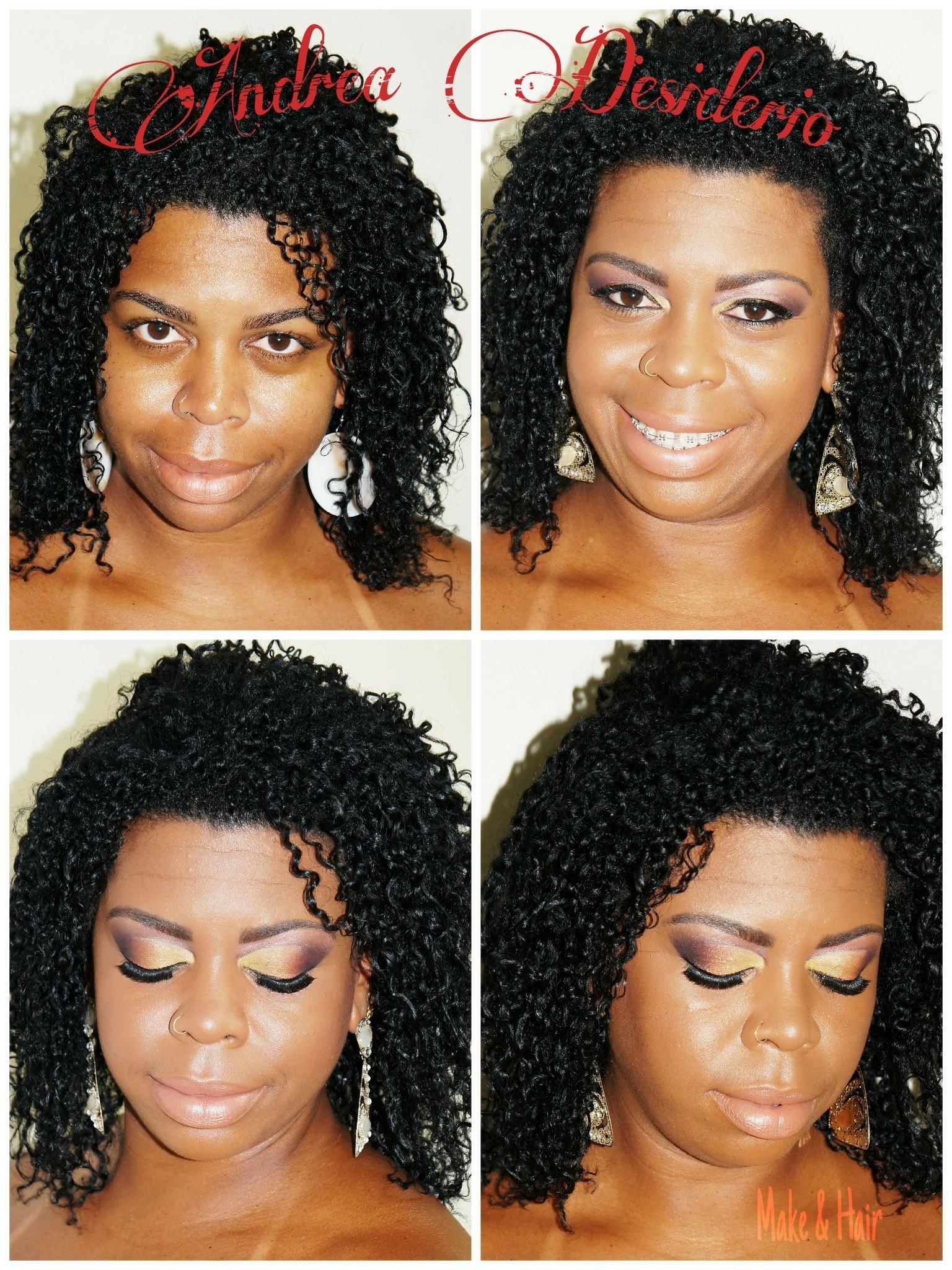 Make maquiagem cabeleireiro(a) maquiador(a) designer de sobrancelhas