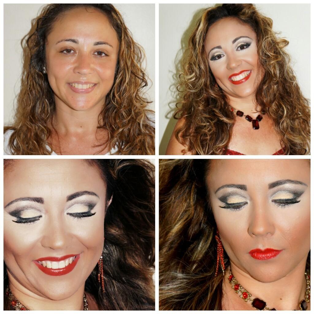 Make e hair Maquiagem para festas maquiagem  cabeleireiro(a) maquiador(a) designer de sobrancelhas