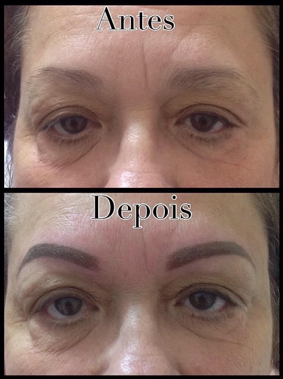 Micropigmentação Antes e depois de micropigmentação de sobrancelhas Design de sobrancelha  estética  maquiador(a) cabeleireiro(a) designer de sobrancelhas empresário(a) / dono de negócio micropigmentador(a)