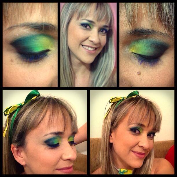 Maquiagem Colorida maquiagem auxiliar cabeleireiro(a) assistente maquiador(a) auxiliar administrativo maquiador(a) cabeleireiro(a)