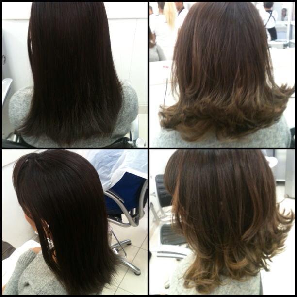 Mechas e Corte Corte  cabelo  auxiliar cabeleireiro(a) assistente maquiador(a) auxiliar administrativo maquiador(a) cabeleireiro(a)