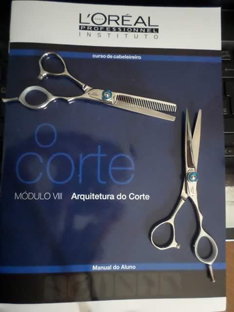 CORTE AVANÇADO (INSTITUTO LÓREAL) cabeleireiro(a) designer de sobrancelhas maquiador(a) escovista