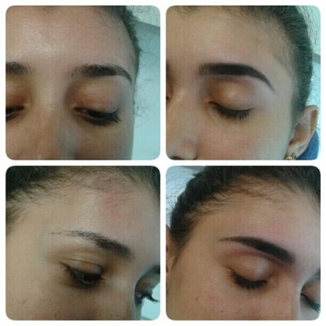design de sobrancelha correção com henna cabeleireiro(a) designer de sobrancelhas maquiador(a) escovista