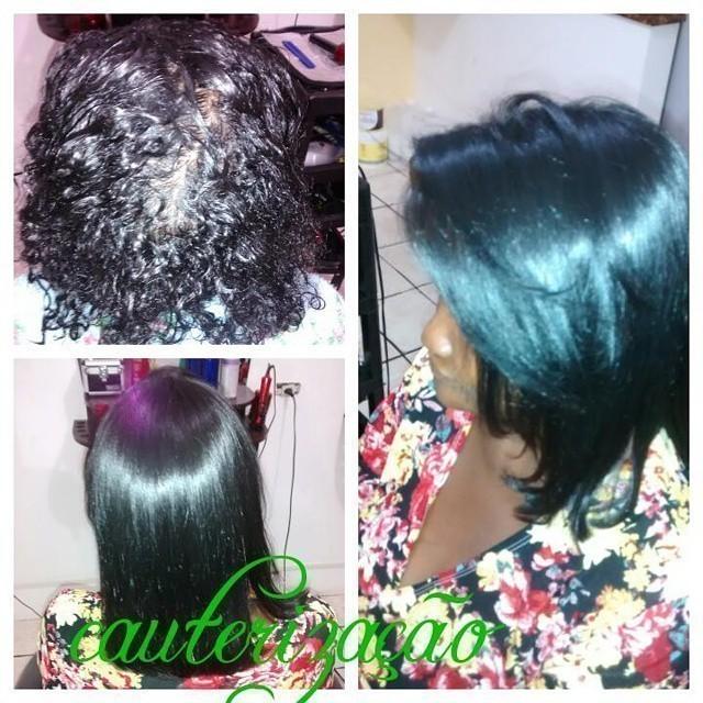 cauterização auxiliar cabeleireiro(a) cabeleireiro(a)