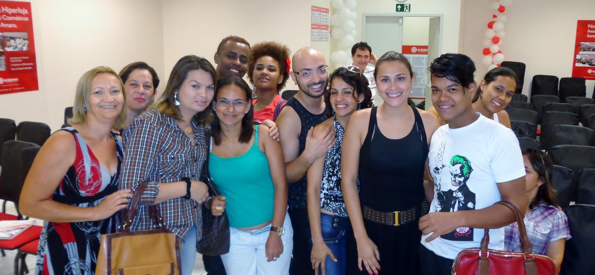 Na formação de profissionais de baleza em São Paulo!