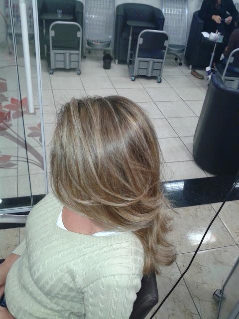 colocação e mechas  Colorimetria auxiliar cabeleireiro(a)