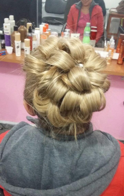 penteado coque de mechas stylist / visagista técnico(a) capilar