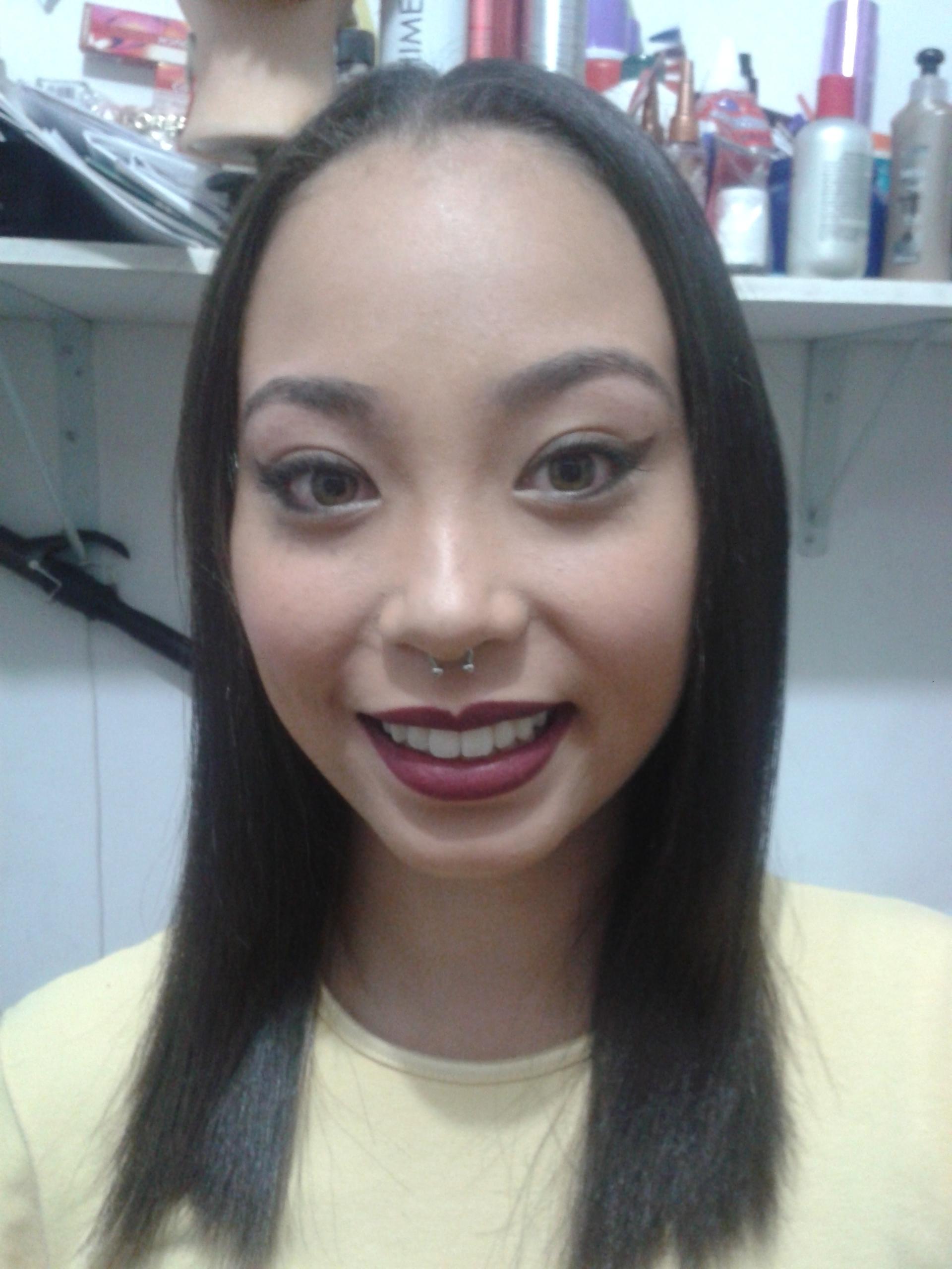 Make-up // depois maquiagem cabeleireiro(a) barbeiro(a) maquiador(a) designer de sobrancelhas depilador(a)