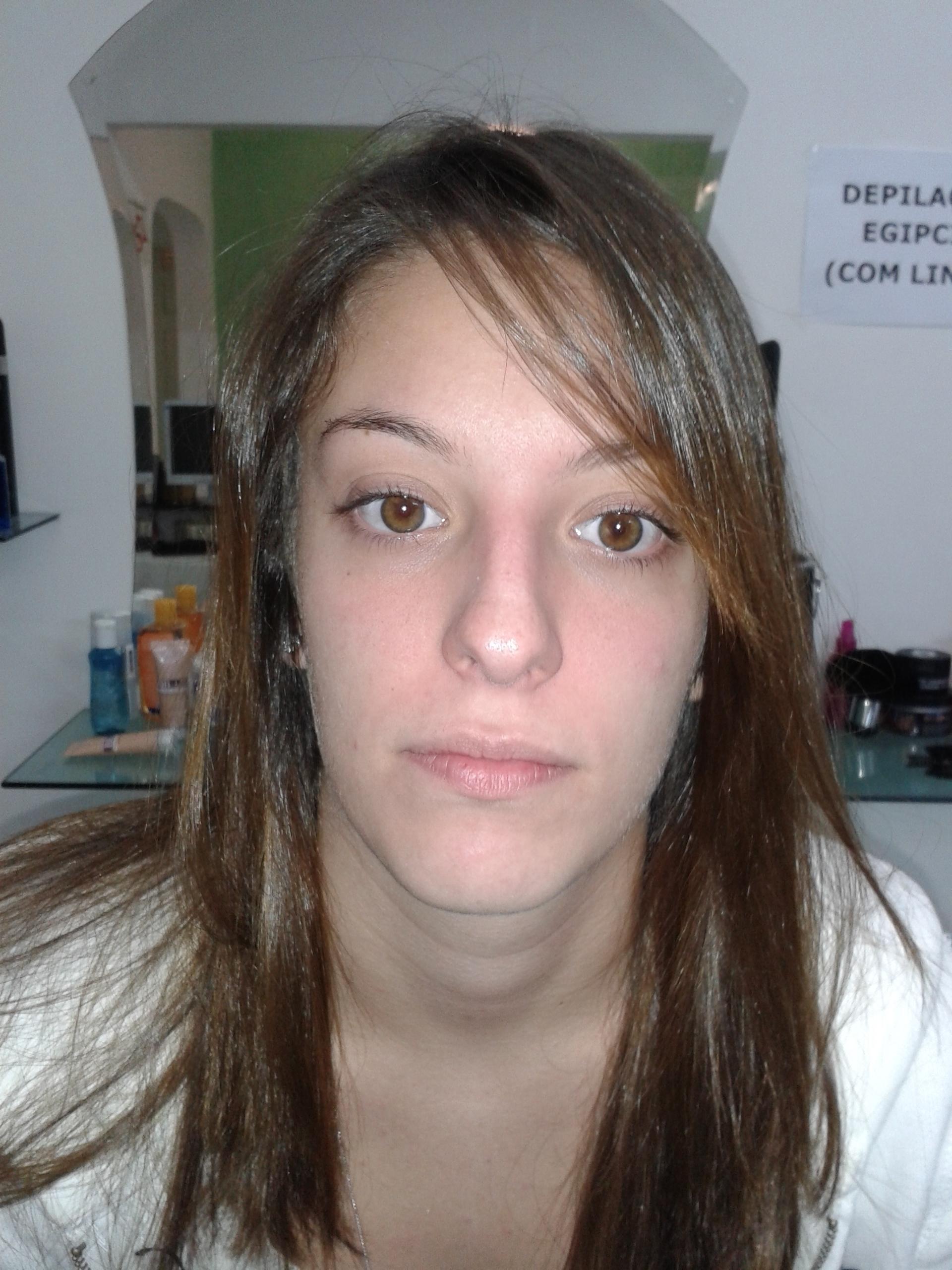 Make -up // antes cabeleireiro(a) barbeiro(a) maquiador(a) designer de sobrancelhas depilador(a)