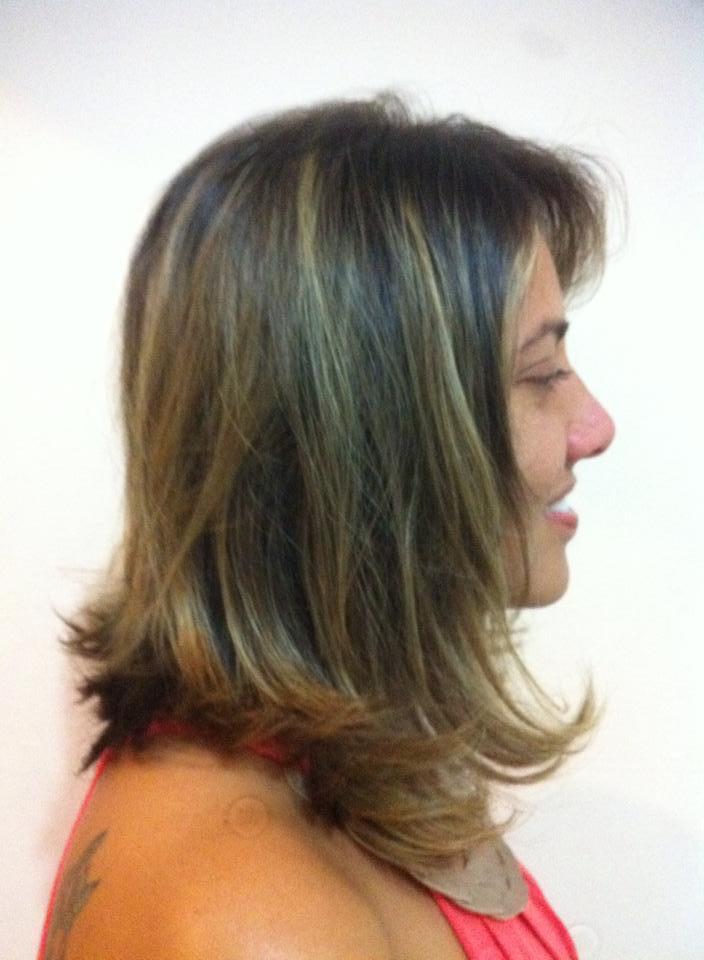 Outro ângulo do mesmo corte cabeleireiro(a)