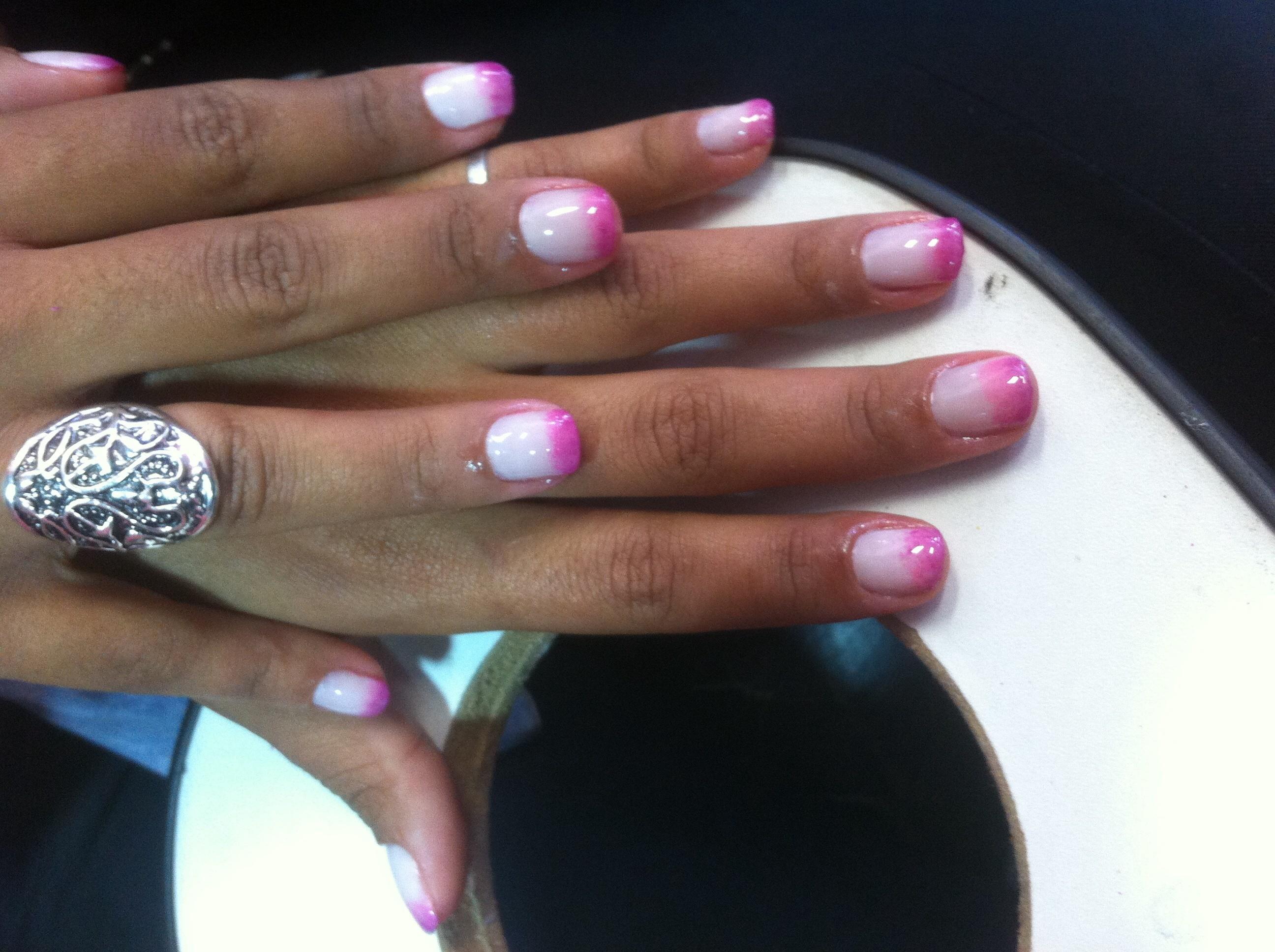 Unhas decoradas  Degrade  unhas  manicure e pedicure