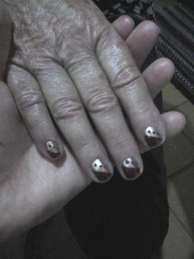 Dourado com Espanhola manicure e pedicure