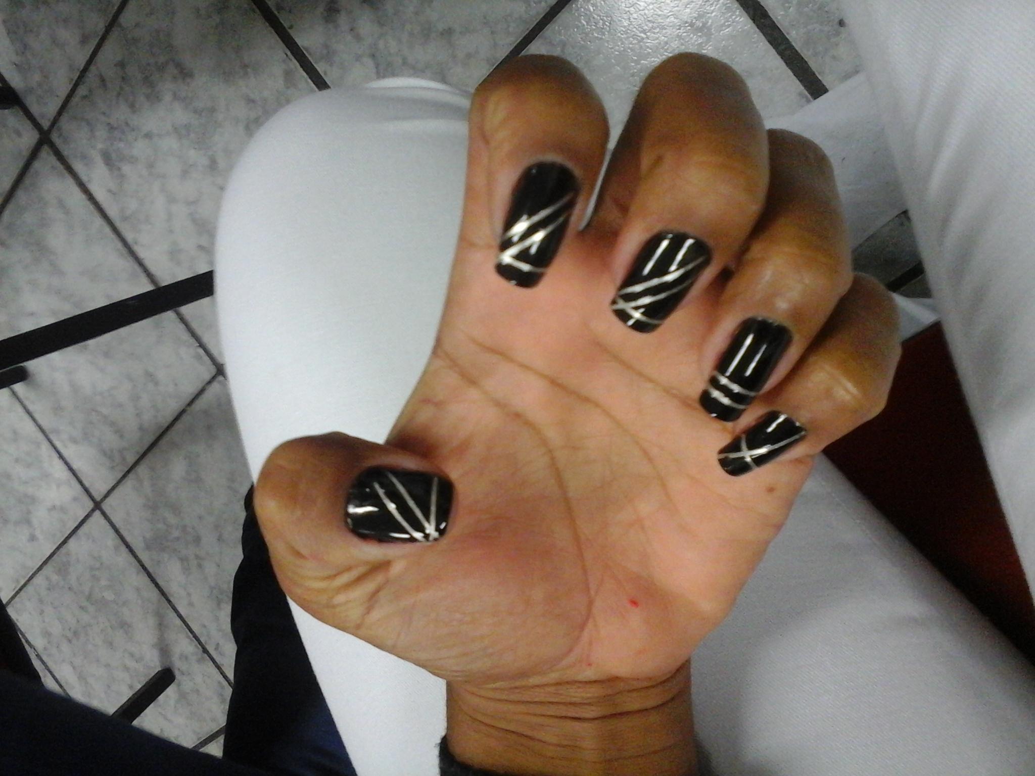 Unha que fiz no curso com a Nail Design Gi Camargo unha manicure e pedicure