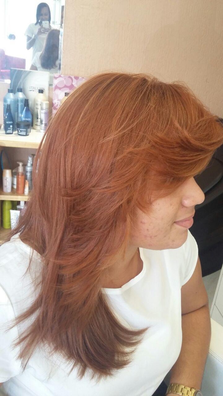 Colorimetria... Depois cabeleireiro(a)