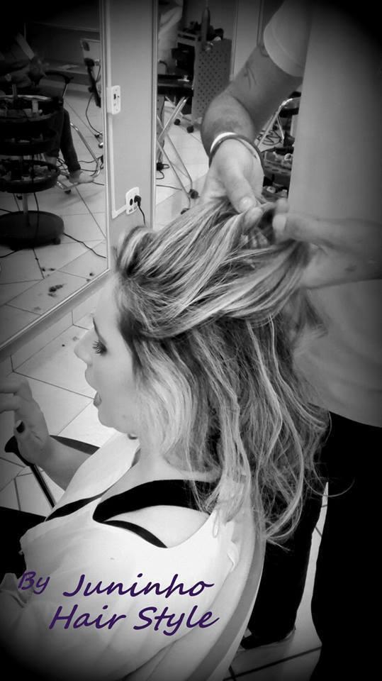 By juninho finalização de penteado. pentaeado cabelo  cabeleireiro(a) maquiador(a)