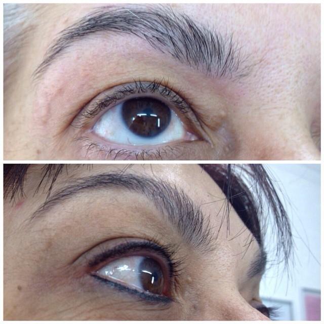 Micropigmentação ( contorno de olhos) dermopigmentador(a)