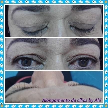 Alongamento de cílios fio a fio maquiador(a) depilador(a) designer de sobrancelhas outros