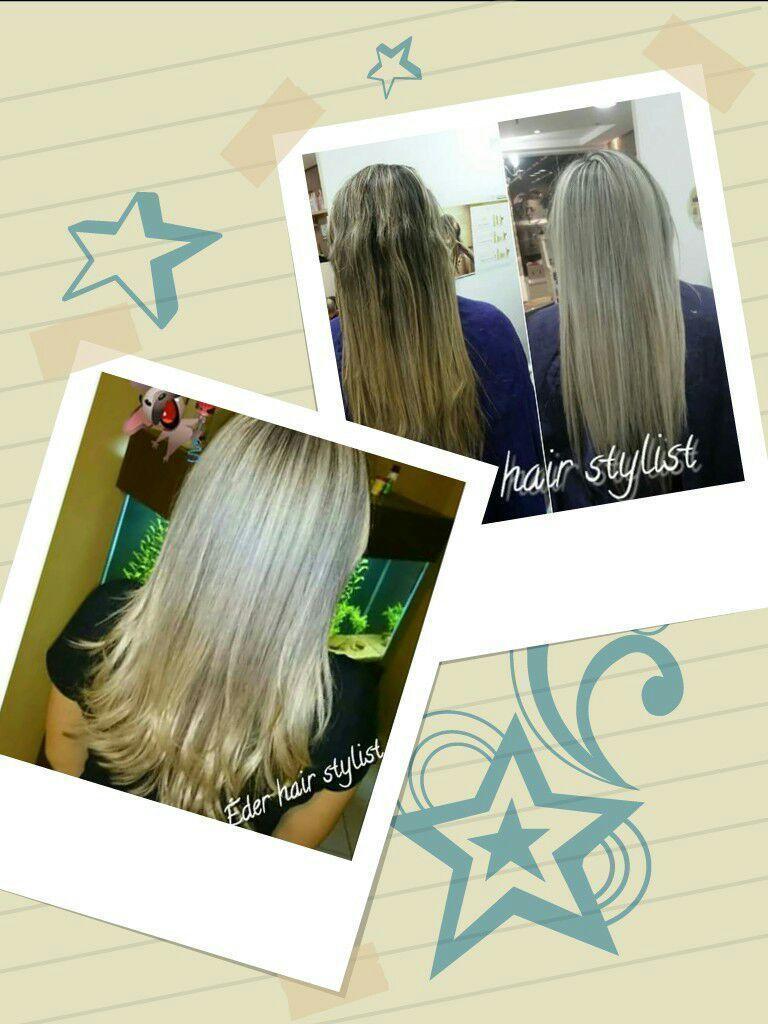 Trabalhos Diversos  Mechas corte e progressiva  cabeleireiro(a)
