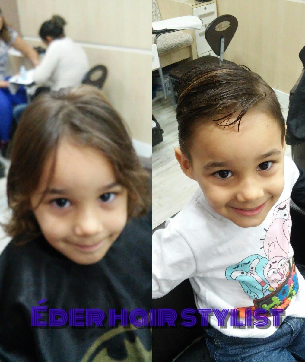 Corte infantil  cabeleireiro(a)